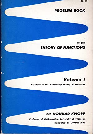 Problem Book in the Theory of Functions: Knopp, Konrad) Bagemihl,