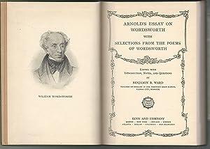 matthew arnold essay on wordsworth