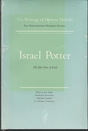 Israel Potter: His Fifty Years of Exile,: Melville, Herman) Hayford,