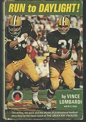 Run to Daylight (Grosset Sports Library Series): Lombardi, Vince &