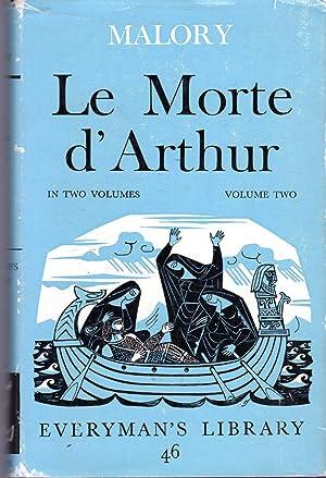 Le Morte D'Arthur (Volume Two (2) only): Malory, Thomas