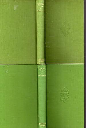 The History of Herodotus (2 Volumes, complete): Herodotus) Rawlinson, George