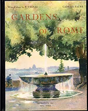 the gardens of Rome: Faure, Gabriel) Kemp,