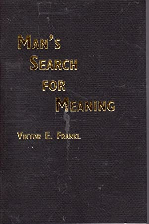 Selections from Man's Search for Meaning: Frankl, Viktor Emcdonald,