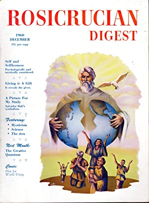 Rosicrucian Digest Volume XXXVIII, No. 12; December,: Disher, Joel (editor)