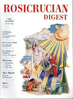 Rosicrucian Digest Volume XXXVIII, No. 10 October,: Disher, Joel (editor)