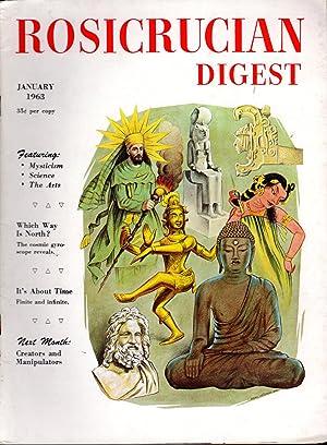 Rosicrucian Digest Volume XLI, No. 1; January,: Disher, Joel (editor)