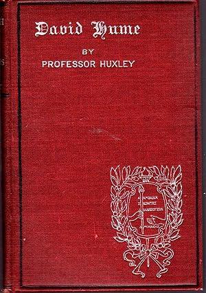 David Hume (English Men of Letters Series): Hume, David) Huxley,