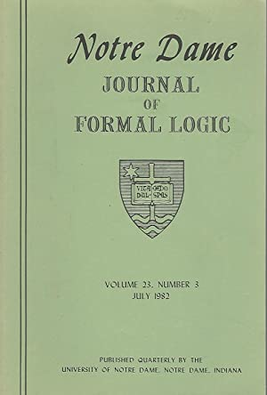 Notre Dame Journal of Formal Logic; Volume: Lepore, Ernest; Maddy,