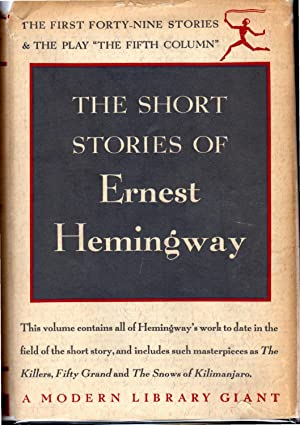 The Short Stories of Ernest Hemingway: The: Hemingway, Ernest