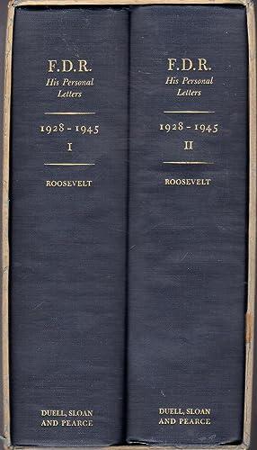 F.D.R.: His Personal Letters: Vol. I : Roosevelt, Franklin D.