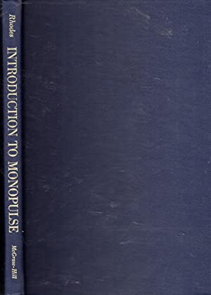 Introduction to Monopulse: Rhodes, Donald R.