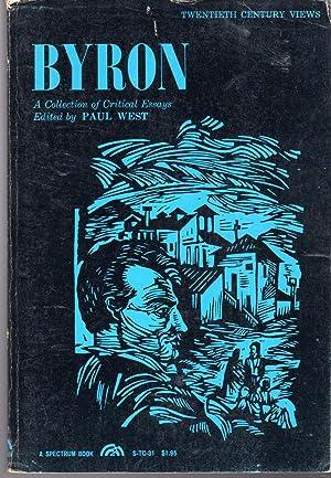 Byron: A Collection of Critical Essays (Twentieth: Byron, George Gordon