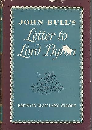 John Bull's Letter to Lord Byron: Byron, George Gordon