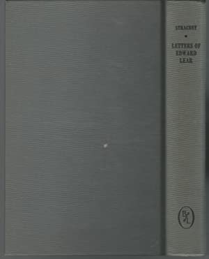 Letters of Edward Lear to Chichester Fortescue: Lear, Edward) Strachey