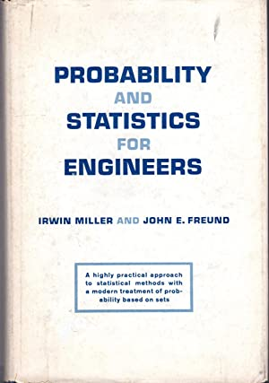 Probability and Statistics for Engineers (Prentice-Hall Mathematics: Miller, Irwin &
