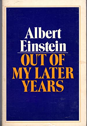 Out Of My Later Years Albert Einstein - AbeB...