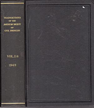 Transactions of the American Society of Civil Engineers: Volume 114, 1949: Unknown Editor