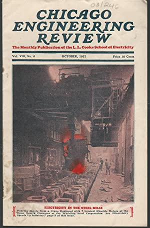 Chicago Engineering Review: The Monthly Publication of: Cooke, L. L.