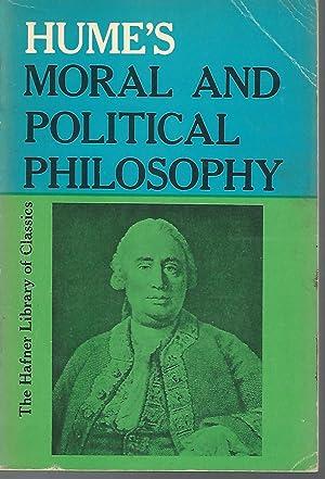 Hume's Moral and Political Philosophy (Hafner Library: Hume, David) Aiken,