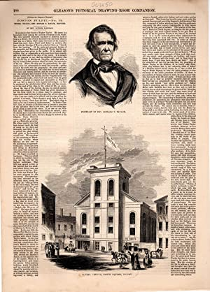"PRINT: ""Boston Pulpit, No. 12: Bethel Church, Rev. Edward T. Taylor, Pastor"".text & ..."