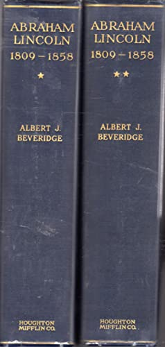 Abraham Lincoln (2 volumes): Lincoln, Abraham) Beveridge, Albert J