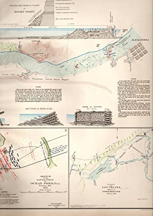 MAP: Section Including Falls and Dam of Red River: Rocky Point & Ocean Pond, Florida ...