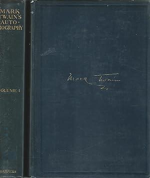 Mark Twain's Autobiography (2 volumes): Twain, Mark Pseud.) Clemens, Samuel