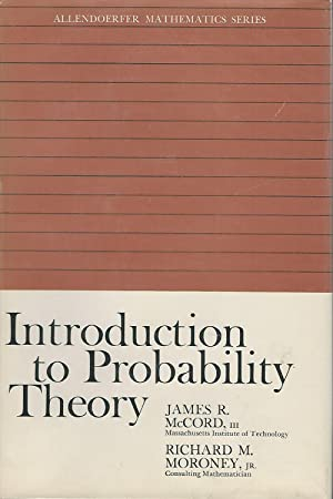 Introduction to Probability Theory (Allendoerfer Mathematics Series): McCord, James R