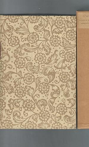 Wilhelm Meister's Apprenticeship [SIGNED By Artist]: Goethe, Johann Wolfgang von) Carlyle, ...