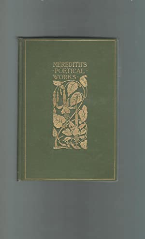 The Poetical Works of Owen Meredith (Robert: Meredith, Owen) Lytton,