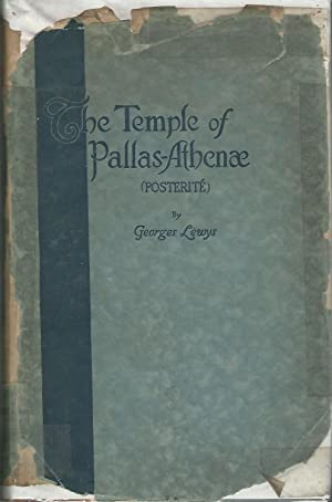 The Temple of Pallas-Athenae [Signed by Author]: Lewys, Georges