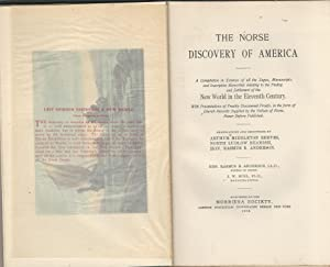 The Norse Discovery of America: Unknown) Reeves, A. M; Beamish, North Ludlow & Anderson, Rasmus B ...