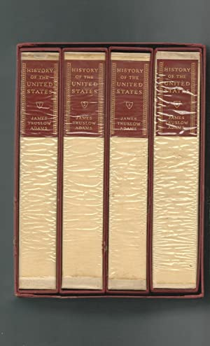 History of the United States (4 Volumes: Adams, James Truslow