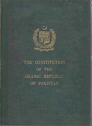 Constitution of the Islamic Republic of Pakistan: unknown) Republic of Pakistan