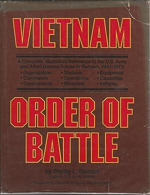 Vietnam Order of Battle: Stanton, Shelby L.