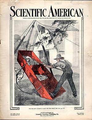 Scientific American Volume CXXI, No. 12: September 20, 1919: Scientific American