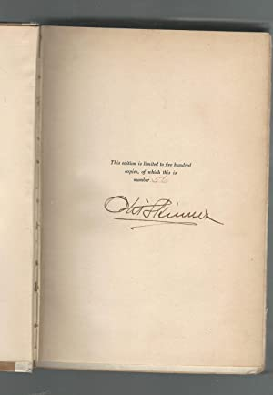 Footlights and Spotlights: Recollections of My Life on the Stage [Signed by Author]: Skinner, Otis