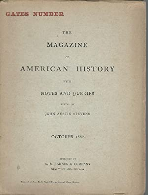 The Magazine of American History With Notes and Queries Volume 5, No. 4; October, 1880