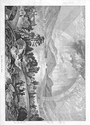 "Engraving: ""Lake George, New York"".from The Aldine Magazine, April,1874: The Aldine ..."