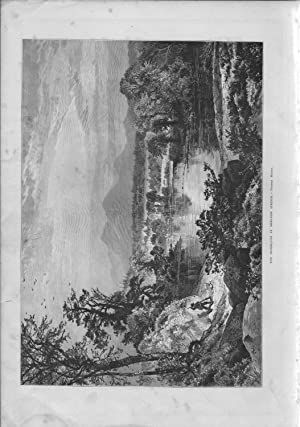 """ENGRAVING: """"The Missisquoi at Sheldon Springs (Vermont)"""".engraving from The Aldine ..."""