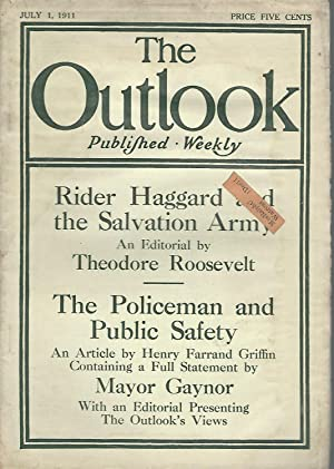 The Outlook, Volume 98, No. 9; July 1, 1911: Abbott, Lyman (Editor)