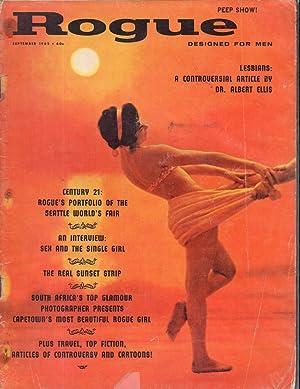 Rogue Magazine: Designed for Men; Volume 6, No. 5; September, 1962: Robinson, Frank M Ed