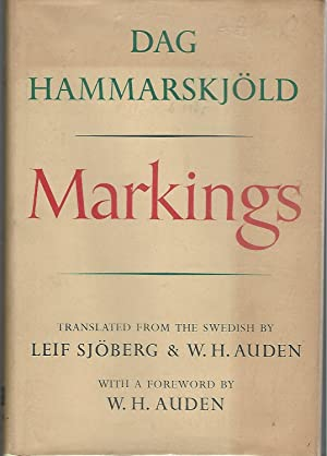 Markings: Hammarskjold, Dag) Sjoberg,