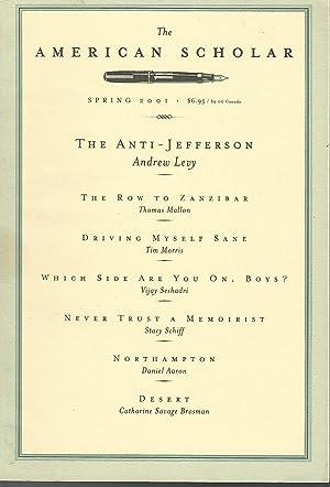 The American Scholar: Volume 70, No. 2;: Fadiman, Anne (Editor)
