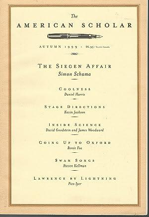 The American Scholar: Volume 68, No. 4;: Fadiman, Anne (Editor)