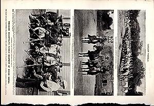 "PRINT:""Theodore Roosevelt's Famous Regiment of Rough Riders"".: Roosevelt, Theodore) Sleicher,"