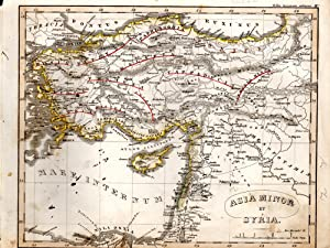"MAP: ""Asia Minor et Syria"".from Orbis Terrarum: D'anville, Mannert, Ukert,"