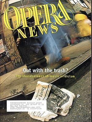 Opera News: Volume 63, No. 1; July,: Smith, Patrick J.