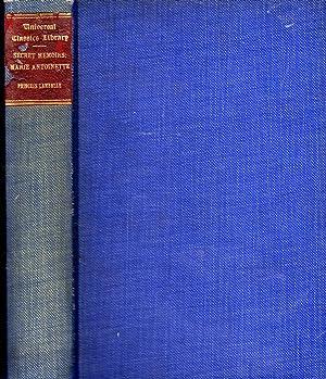 Secret Memoirs of Princess Lamballe: Bing Her: Antoinnette, Marie Josèphe